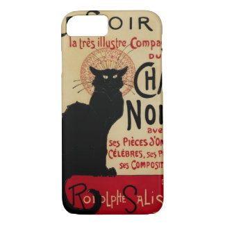 Vintage Art Nouveau, Ce Soir Chat Noir Black Cat iPhone 8/7 Case