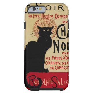 Vintage Art Nouveau, Ce Soir Chat Noir Black Cat Tough iPhone 6 Case