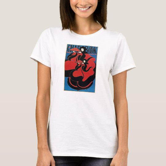 Vintage Art Nouveau Chap Book Thanksgiving T-Shirt