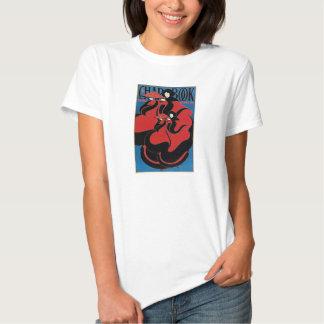 Vintage Art Nouveau Chap Book Thanksgiving T-shirts