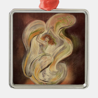Vintage Art Nouveau, La Loie Fuller Modern Dancer Christmas Ornament