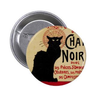 Vintage Art Nouveau, Le Chat Noir Button