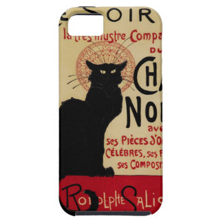 Vintage Art Nouveau, Le Chat Noir iPhone 5 Case