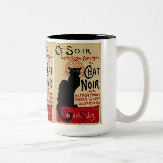 Vintage Art Nouveau, Le Chat Noir Mug