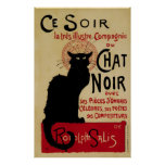 Vintage Art Nouveau, Le Chat Noir Poster