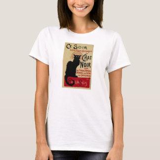 Vintage Art Nouveau, Le Chat Noir T-Shirt