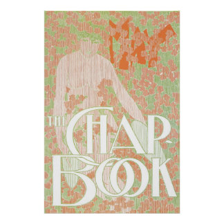Vintage art Nouveau light pastel colors Poster