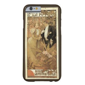 Vintage Art Nouveau Love Romance, Flirt by Mucha Barely There iPhone 6 Case