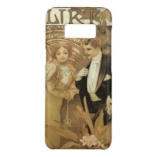 Vintage Art Nouveau Love Romance, Flirt by Mucha Case-Mate Samsung Galaxy S8 Case