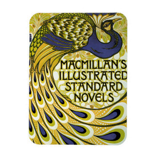 Vintage Art Nouveau Macmillan s Peacock Feather Magnets