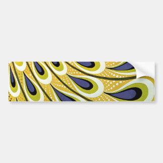 Vintage Art Nouveau, Macmillan's Peacock Feather Bumper Sticker