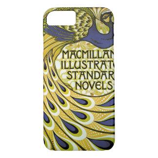 Vintage Art Nouveau, Macmillan's Peacock Feather iPhone 8/7 Case