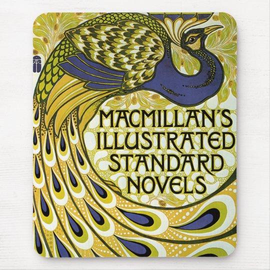 Vintage Art Nouveau, Macmillan's Peacock Feather Mouse Mat