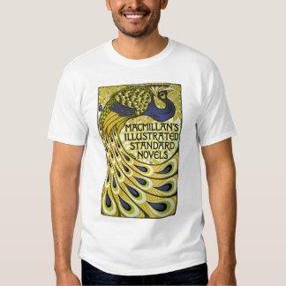 Vintage Art Nouveau, Macmillan's Peacock Feather T-shirt
