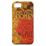 Vintage Art Nouveau Music; La Boheme Opera, 1896 iPhone 5 Cases