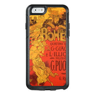 Vintage Art Nouveau Music, La Boheme Opera, 1896 OtterBox iPhone 6/6s Case