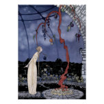 Vintage Art Nouveau Old French Fairy Tales Poster