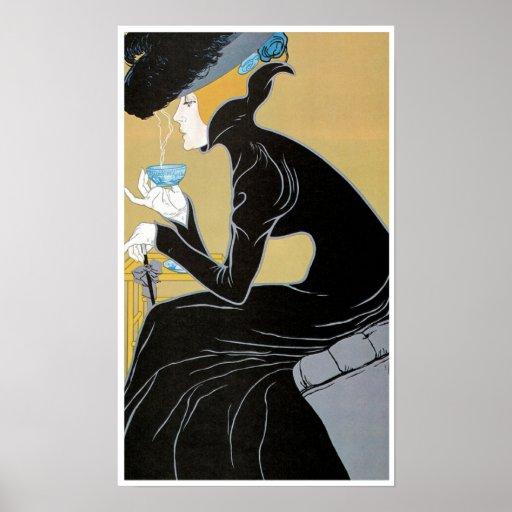Vintage Art Nouveau Poster