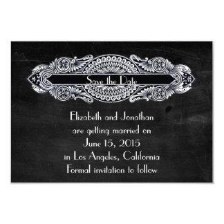 Vintage Art Nouveau Save the Date Personalized Invites