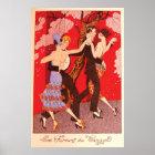 Vintage Art Nouveau ~ The Fury of Tango Poster