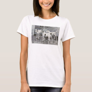 Vintage Art of Fox Terriers T-Shirt