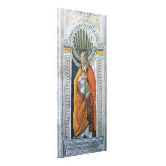 Vintage Art, Saint Sixtus II by Sandro Botticelli Stretched Canvas Prints