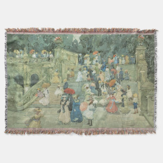 Vintage Art, The Mall, Central Park by Prendergast