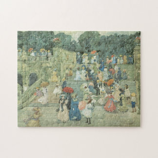 Vintage Art, The Mall, Central Park by Prendergast Puzzles