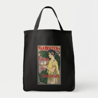 vintage Art: Van Houten's Holland Cocoa Chocolate Tote Bag