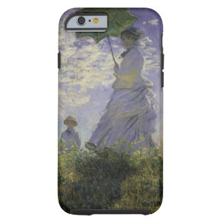 Vintage Art, Woman with Parasol by Claude Monet Tough iPhone 6 Case