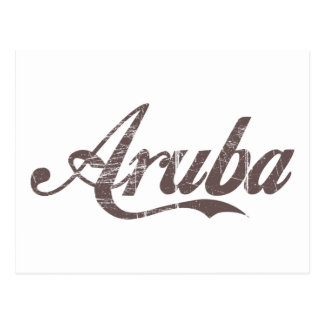 Vintage Aruba Postcard
