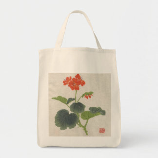 Vintage Asian Blossom Bag