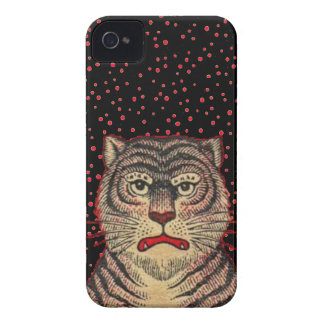 Vintage Asian Striped Fierce Tiger iPhone 4 Covers
