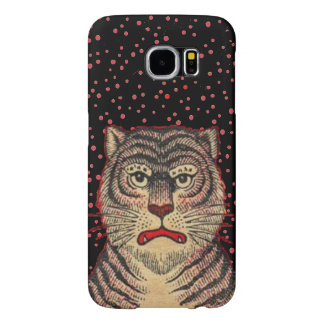 Vintage Asian Striped Fierce Tiger Samsung Galaxy S6 Cases