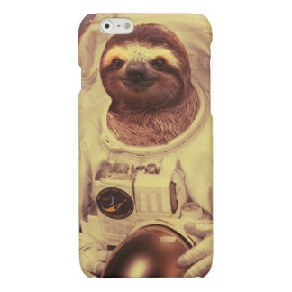 Vintage Astronaut Sloth iPhone 6 Plus Case