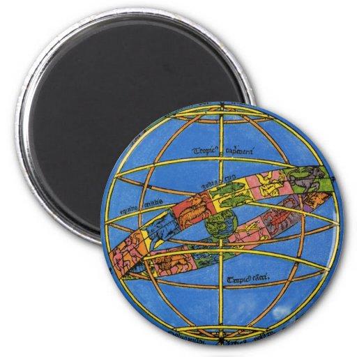 Vintage Astronomer Claudius Ptolemy, Celestial Magnet