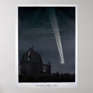 Vintage Astronomical Poster