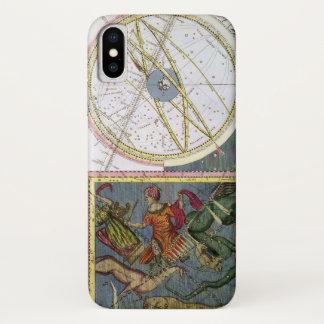 Vintage Astronomy Celestial by Matthaeus Seutter iPhone X Case