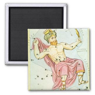 Vintage Astronomy Celestial Cepheus Constellation Magnets