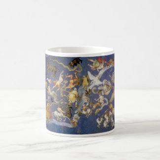Vintage Astronomy Celestial Fresco, Constellations Coffee Mug