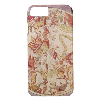 Vintage Astronomy, Celestial Map by Carel Allard iPhone 7 Case