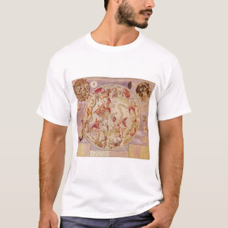 Vintage Astronomy, Celestial Map by Carel Allard T-Shirt