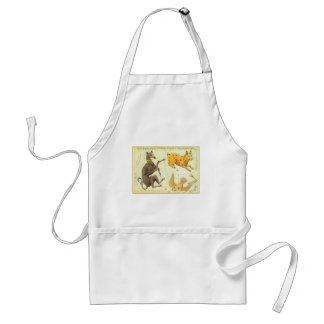 Vintage Astronomy, Celestial Map Star Chart in Sky Standard Apron