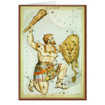 Vintage Astronomy, Celestial, Orion Constellation