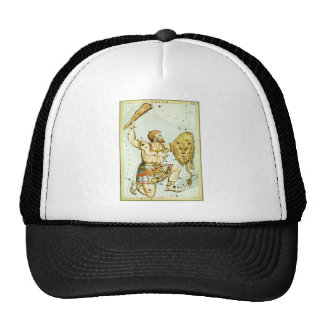 Vintage Astronomy, Celestial, Orion Constellation Mesh Hat