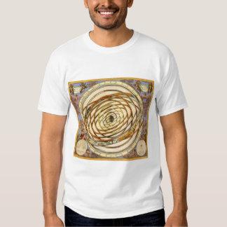 Vintage Astronomy Celestial Planet Planetary Orbit T-shirt