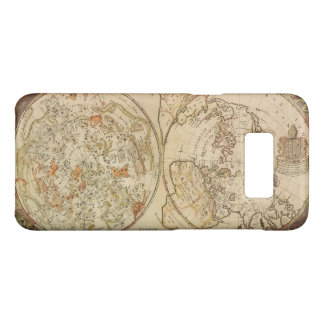Vintage Astronomy, Celestial Planisphere Map Case-Mate Samsung Galaxy S8 Case
