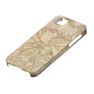 Vintage Astronomy, Celestial Planisphere Map iPhone 5 Cover