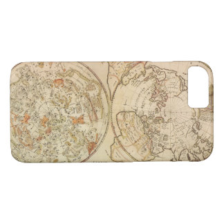 Vintage Astronomy, Celestial Planisphere Map iPhone 8/7 Case