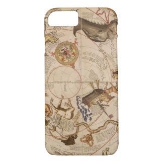 Vintage Astronomy, Celestial Planisphere Star Map iPhone 7 Case